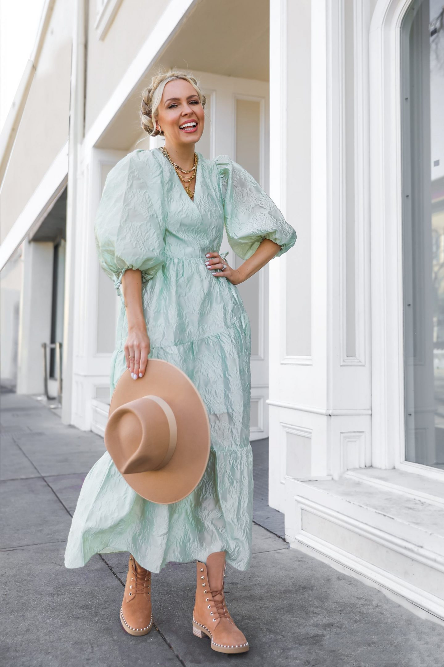 Mint color styling ideas for Spring, from Anthropologie, Sundress and ASOS. By Lombard & Fifth Veronica Levy.