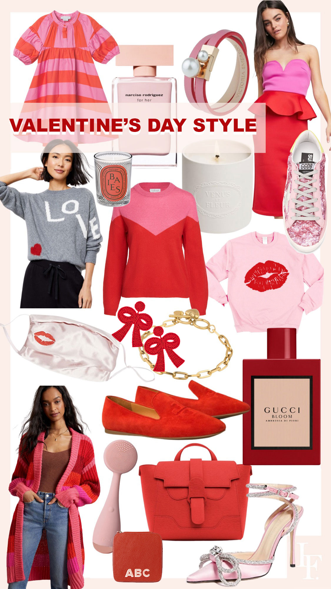 Best gifts and fashion for Valentine's Day 2021, by fashion blogger Lombard & Fifth Veronica Levy.