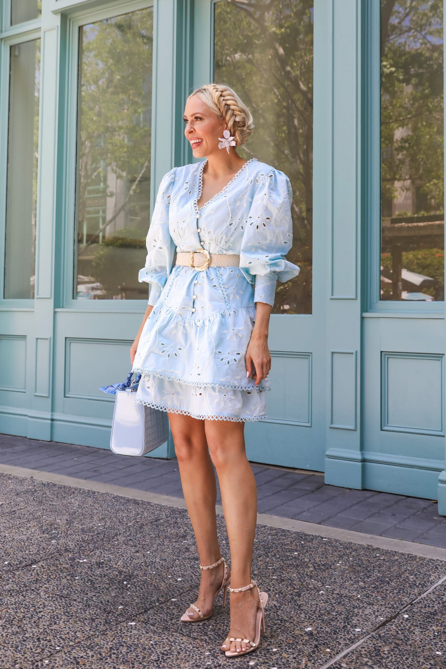 Spring feminine style inspiration from River Island at Nordstrom, by Lombard & Fifth Veronica Levy.