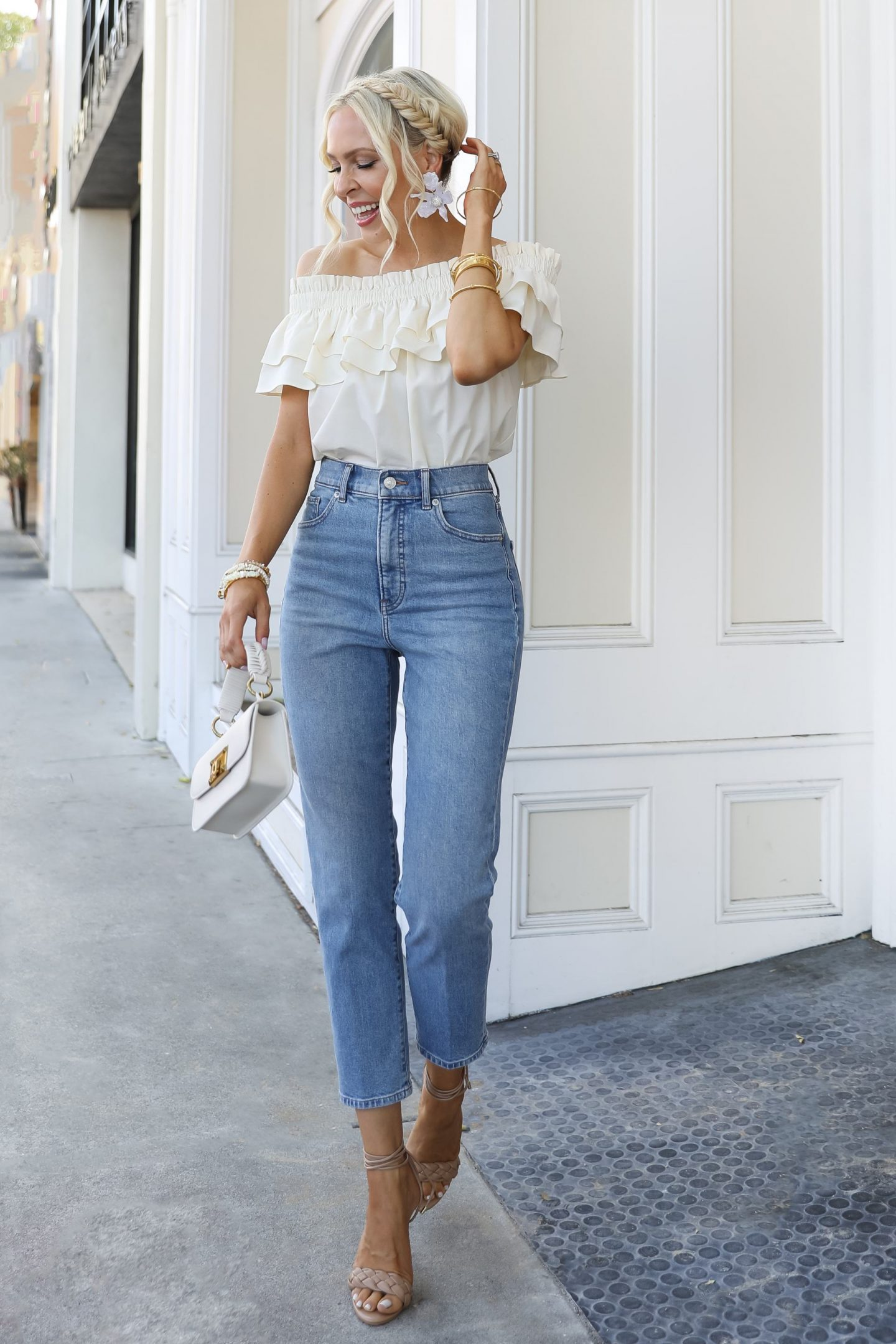 Summer date night style inspiration from Express, by Veronica Levy Lombard & Fifth.